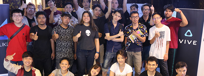 ถ่ายทอดสด ALIENWARE CHALLENGE VR E-SPORT TOURNAMENT SEASON 1